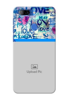 Lenovo K9 Mobile Covers Online: Colorful Love Design