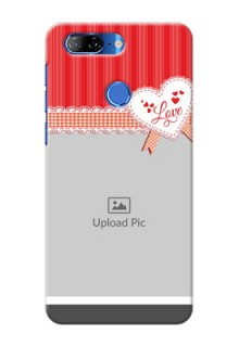 Lenovo K9 phone cases online: Red Love Pattern Design