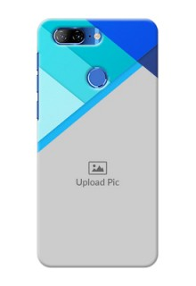 Lenovo K9 Phone Cases Online: Blue Abstract Cover Design