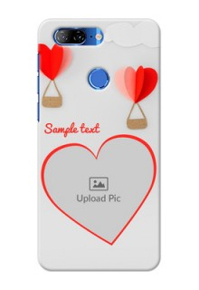Lenovo K9 Phone Covers: Parachute Love Design