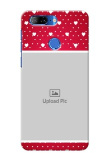 Lenovo K9 custom back covers: Hearts Mobile Case Design