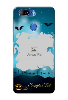 Lenovo K9 Personalised Phone Cases: Halloween frame design