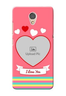 Lenovo P2 Personalised mobile covers: Love Doodle Design
