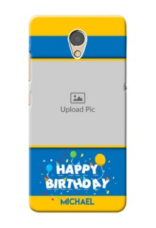 Lenovo P2 Mobile Back Covers Online: Birthday Wishes Design
