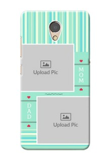 Lenovo P2 custom mobile phone covers: Mom & Dad Pic Design