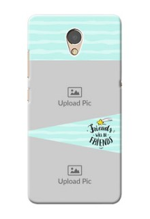 Lenovo P2 Mobile Back Covers: Friends Picture Icon Design