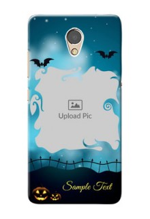 Lenovo P2 Personalised Phone Cases: Halloween frame design