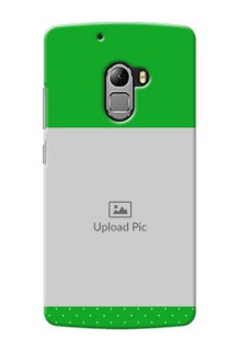 Lenovo Vibe K4 Note Green And Yellow Pattern Mobile Cover Design