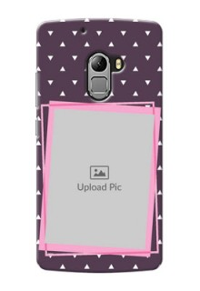 Lenovo Vibe K4 Note triangural seamless pattern with abstract frames Design