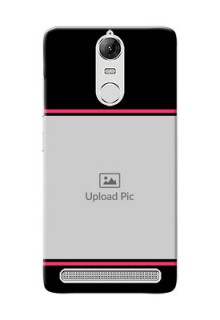 Lenovo Vibe K5 Note Pro Photo With Text Mobile Case Design