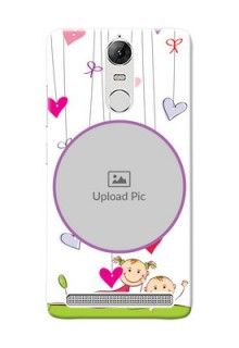 Lenovo Vibe K5 Note Pro Cute Babies Mobile Cover  Design