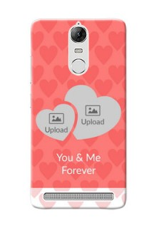 Lenovo Vibe K5 Note Pro Couples Picture Upload Mobile Cover Design