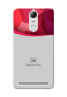 Lenovo Vibe K5 Note Pro Red Abstract Mobile Case Design