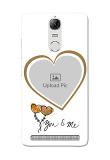 Lenovo Vibe K5 Note Pro You And Me Mobile Back Case Design