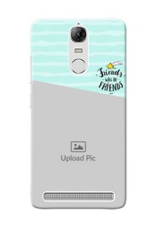 Lenovo Vibe K5 Note Pro 2 image holder with friends icon Design