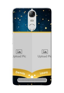 Lenovo Vibe K5 Note Pro 2 image holder with galaxy backdrop and stars  Design