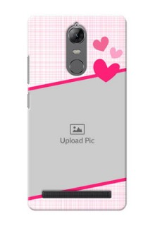 Lenovo Vibe K5 Note Pink Design With Pattern Mobile Cover Design