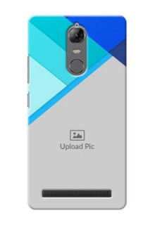 Lenovo Vibe K5 Note Blue Abstract Mobile Cover Design