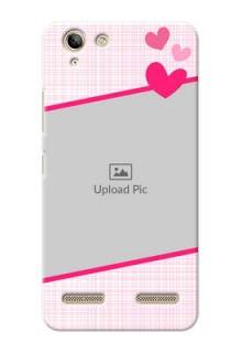 Lenovo Vibe K5 Plus Pink Design With Pattern Mobile Cover Design
