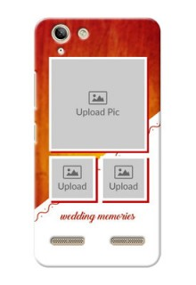 Lenovo Vibe K5 Plus Wedding Memories Mobile Cover Design