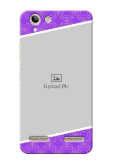 Lenovo Vibe K5 Plus Violet Pattern Mobile Case Design