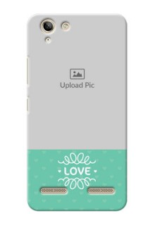 Lenovo Vibe K5 Plus Lovers Picture Upload Mobile Cover Design