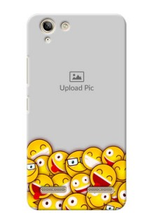 Lenovo Vibe K5 Plus smileys pattern Design Design