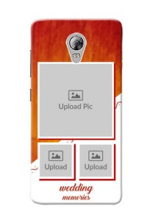 Lenovo Vibe P1 Wedding Memories Mobile Cover Design