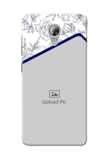 Lenovo Vibe P1 Floral Design Mobile Cover Design