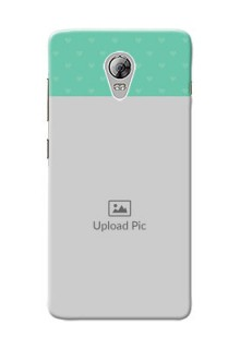 Lenovo Vibe P1 Lovers Picture Upload Mobile Cover Design