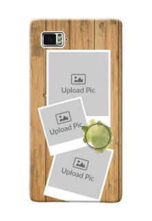 Lenovo Vibe Z2 Pro 3 image holder with wooden texture  Design