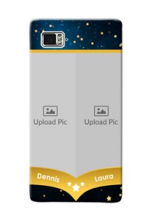 Lenovo Vibe Z2 Pro 2 image holder with galaxy backdrop and stars  Design