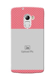 Lenovo X3 Lite White Dots Mobile Case  Design