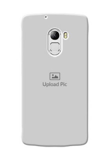 Lenovo X3 Lite Full Picture Upload Mobile Back Cover Design