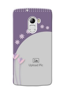 Lenovo X3 Lite lavender background with flower sprinkles Design Design