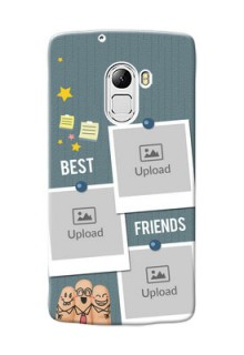 Lenovo X3 Lite 3 image holder with sticky frames and friendship day wishes Design
