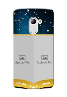 Lenovo X3 Lite 2 image holder with galaxy backdrop and stars  Design