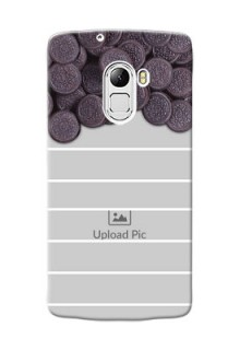 Lenovo X3 Lite oreo biscuit pattern with white stripes Design Design