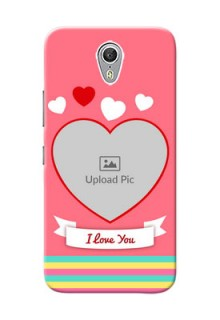 Lenovo ZUK Z1 I Love You Mobile Cover Design