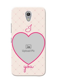 Lenovo ZUK Z1 Love Symbol Picture Upload Mobile Case Design