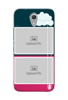 Lenovo ZUK Z1 Cute Girl Abstract Mobile Case Design