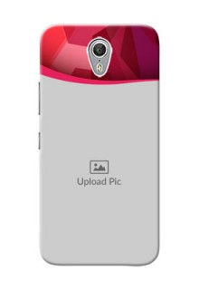 Lenovo ZUK Z1 Red Abstract Mobile Case Design