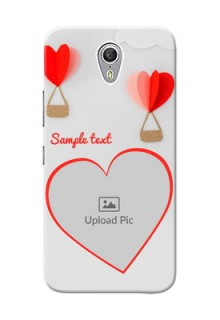 Lenovo ZUK Z1 Love Abstract Mobile Case Design