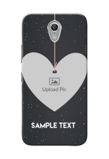 Lenovo ZUK Z1 Hanging Heart Mobile Back Case Design