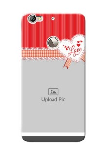 LeTV Le 1s Red Pattern Mobile Cover Design