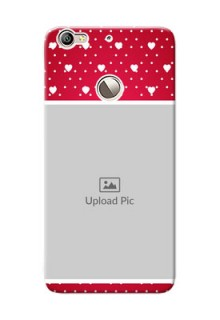LeTV Le 1s Beautiful Hearts Mobile Case Design