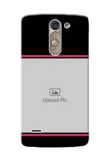 LG G3 Stylus Photo With Text Mobile Case Design