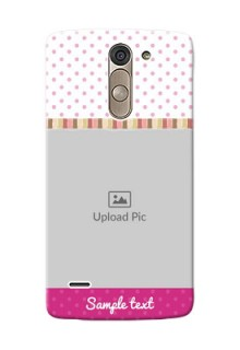 LG G3 Stylus Cute Mobile Case Design