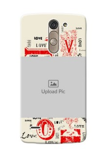 LG G3 Stylus Lovers Picture Upload Mobile Case Design