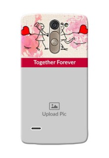 LG G3 Stylus Just You And Me Mobile Back Case Design